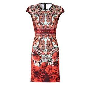Clover Canyon red matador dress